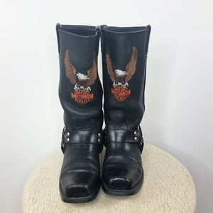 Harley Davidson | Leather Riding Boots - Size 8